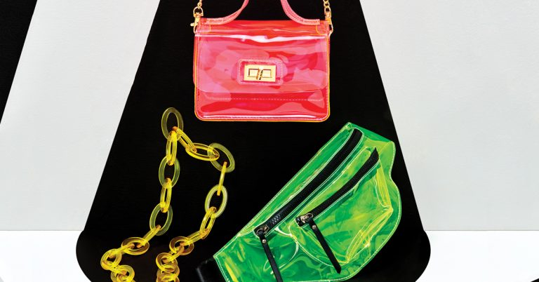 Power up this summer's style with a shock of neon