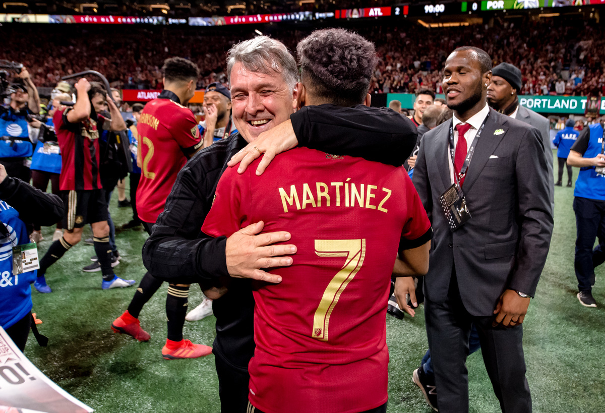 Atlanta United Tata and Josef Martinez