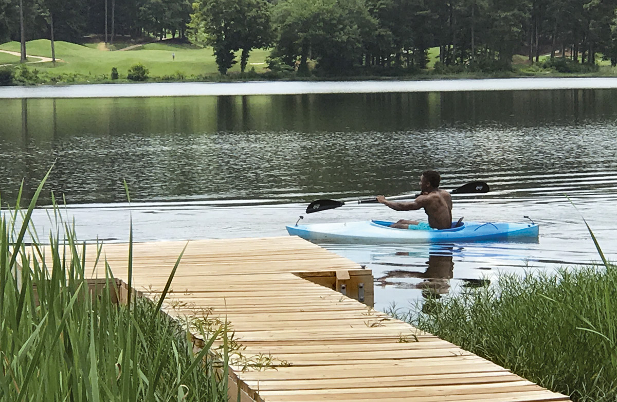 Escape to the Lake: Lake Acworth