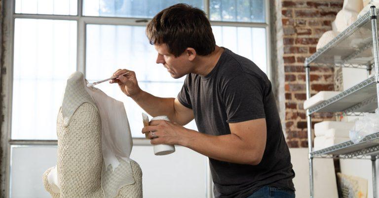 How Photoshop—and technology—has influenced Darien Arikoski-Johnson's ceramics
