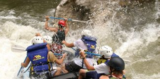 Raft on the Chattooga River