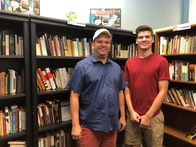 For Latin American immigrants in Roswell, BiblioCactus bookstore is a connection to home