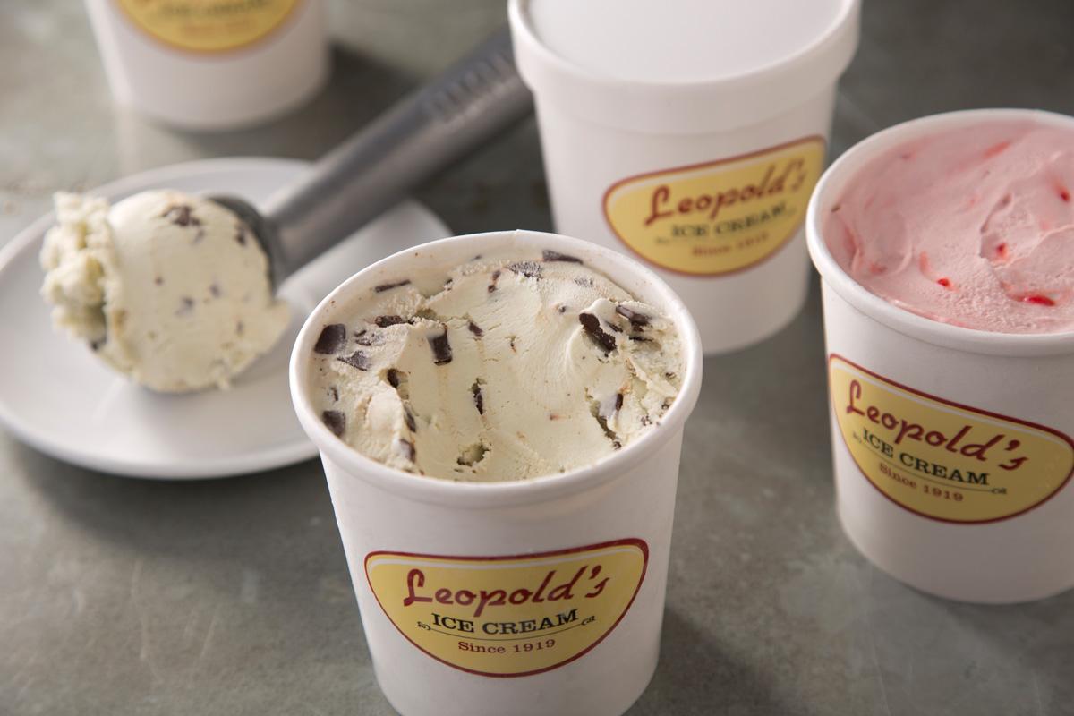 Leopold's Ice Cream 100th anniversary