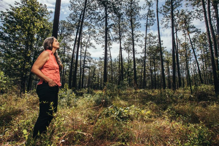 Georgia's forests are a shrinking line of defense against global warming. Can Janisse Ray make us care enough to save them?