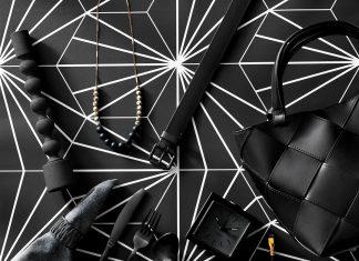 Matte black home decorations