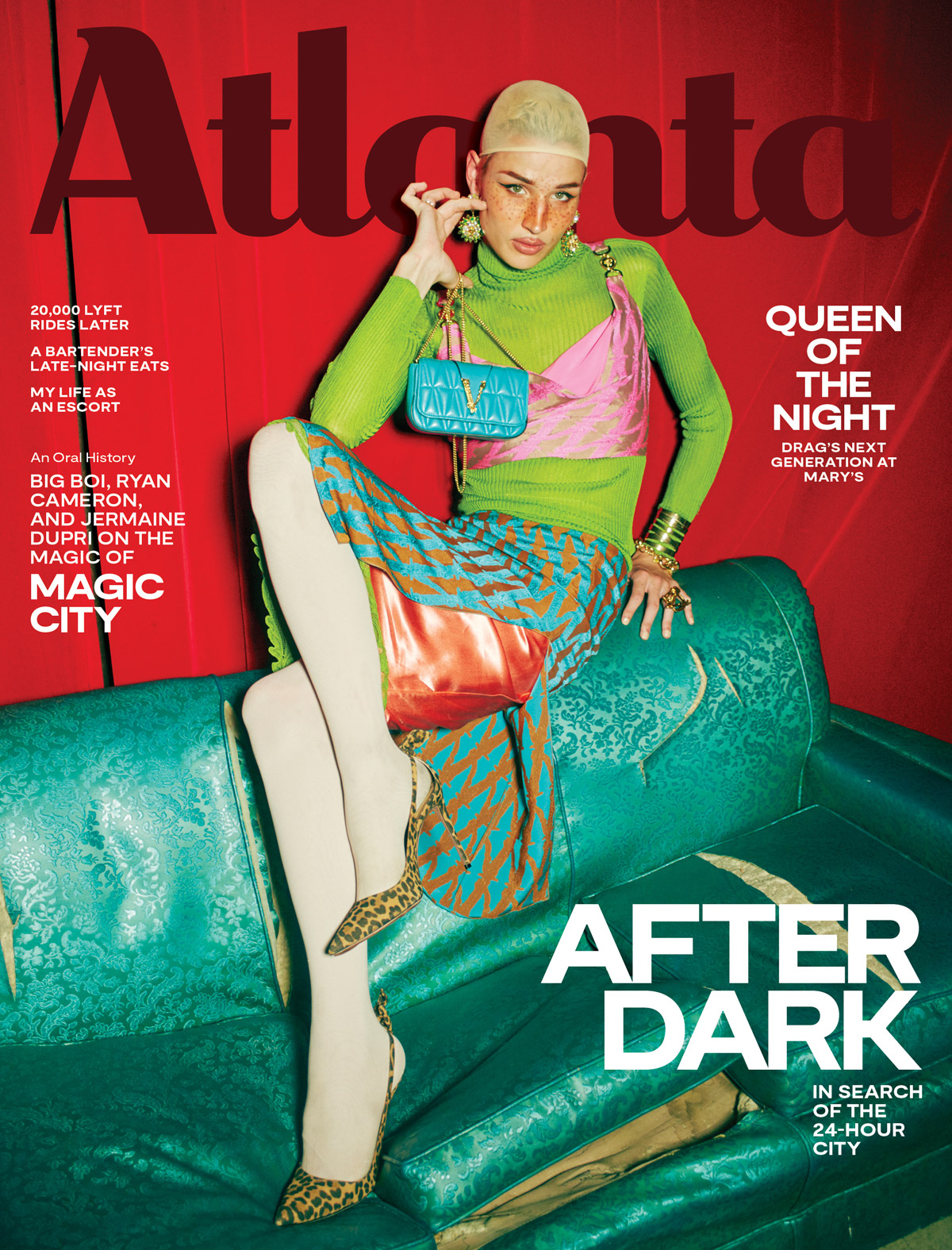 Atlanta Magazine September 2019 cover - After Dark