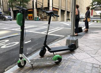 E-scooters Atlanta nighttime ban