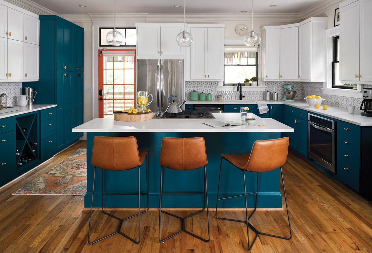 Kitchen renovation: Gina Sims