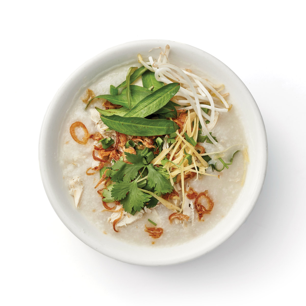 Chicken and ginger congee
