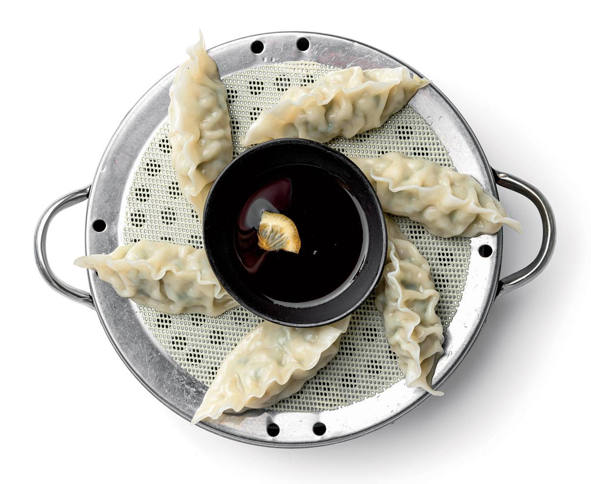 Mandu (pork dumplings)
