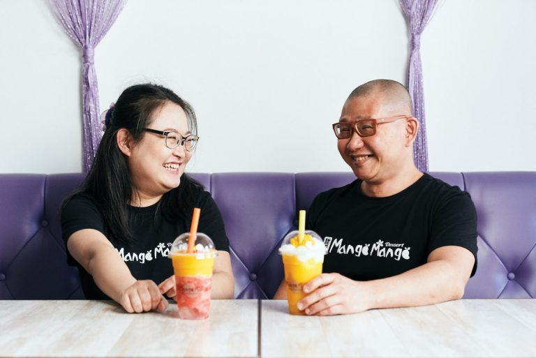 This couple gave up life in New York to open a BuHi dessert shop—all because of the mango