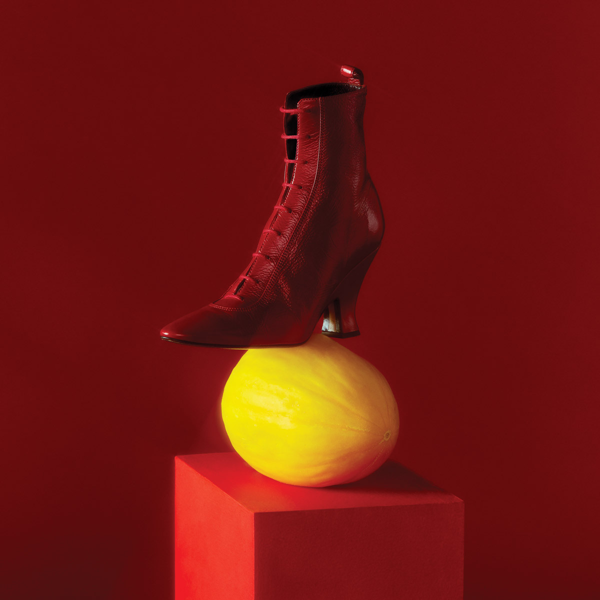 Marc Jacobs rouge boot