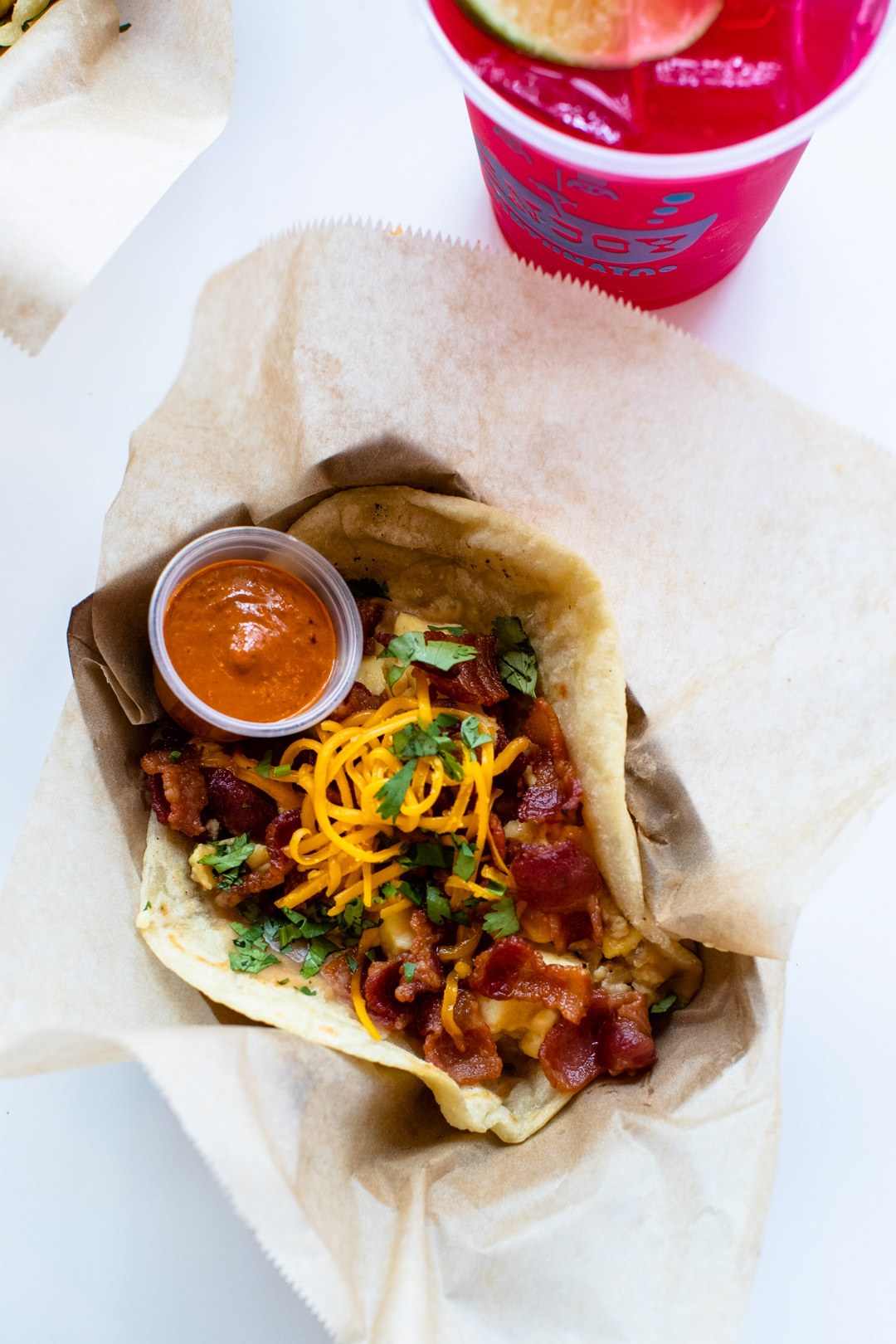 Review: Little Rey, bacon breakfast taco