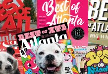 Six years of Atlanta Magazine Best of Atlanta covers