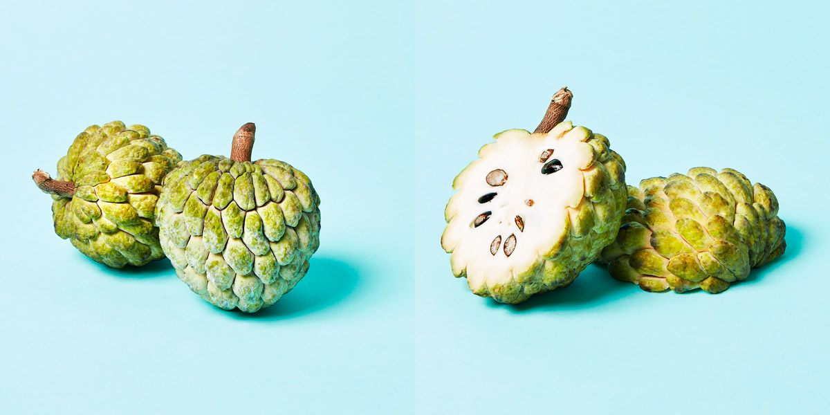 Sugar Apple opened and closed