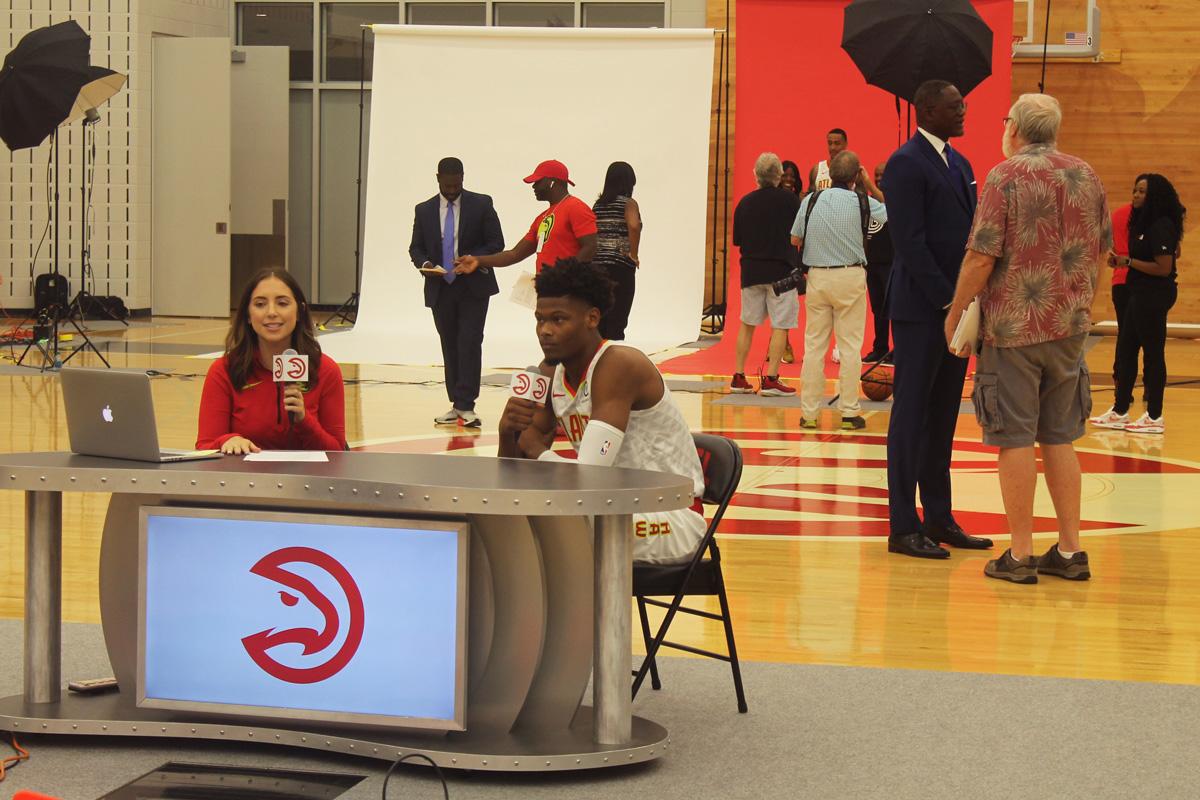 Cam Reddish Atlanta Hawks Media Day