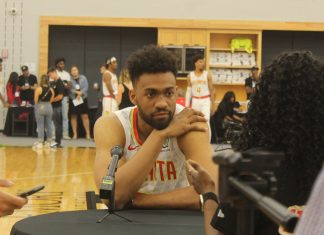 Jabari Parker Atlanta Hawks Media Day