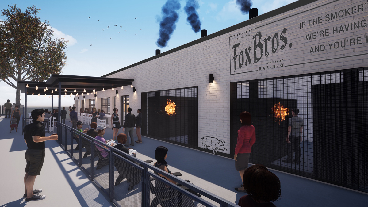 Fox Bros. Bar-B-Q The Works Westside Atlanta