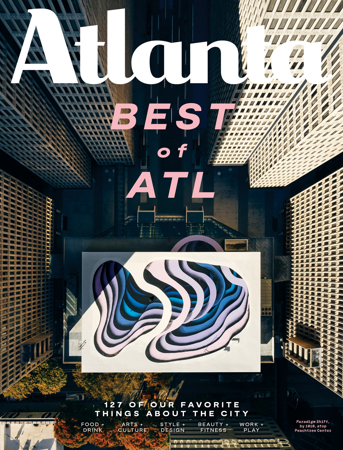 Atlanta Magazine December 2019 cover - Best of Atlanta