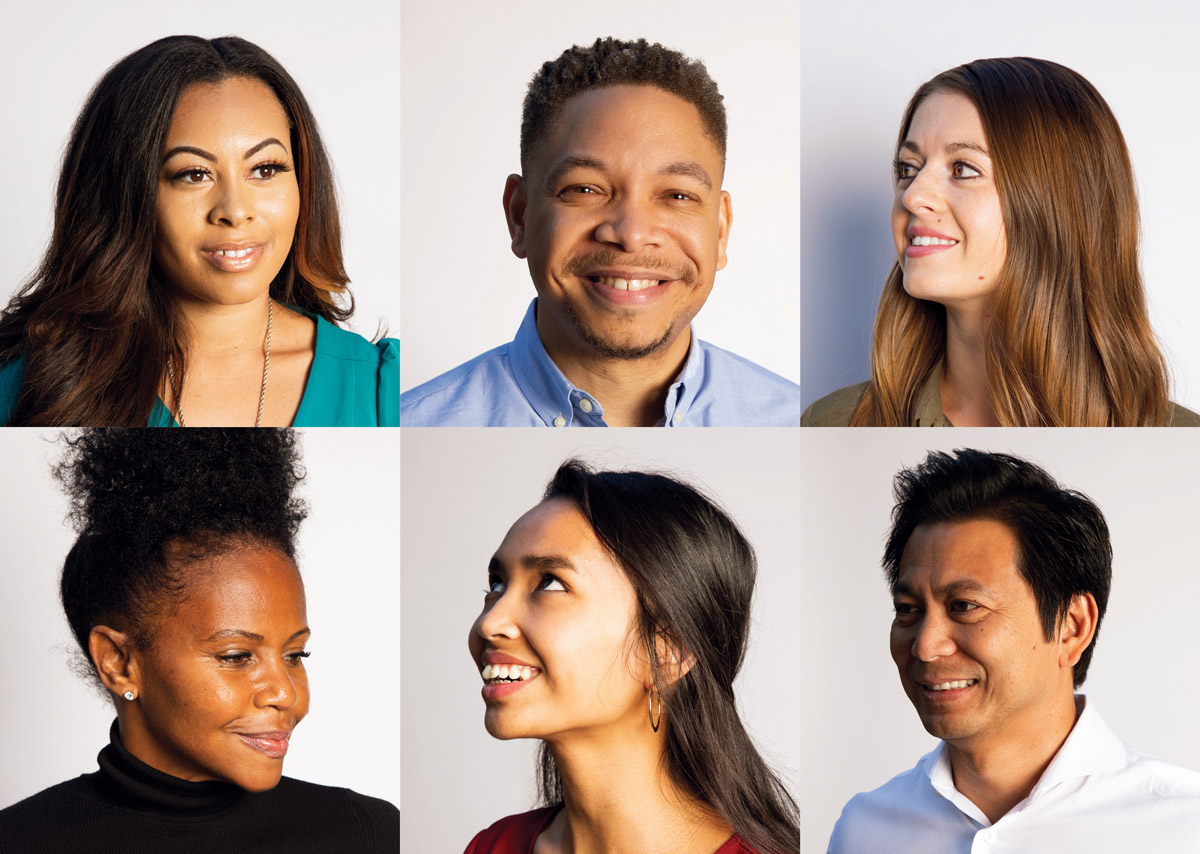 Six Cox Conserves employees