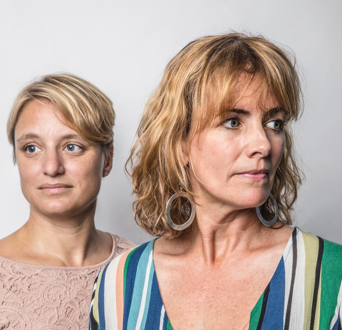 Megan Desrosiers and Alice Keyes