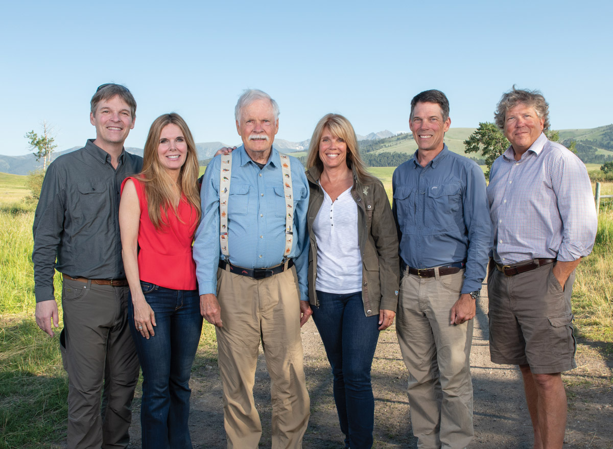 The Ted Turner family