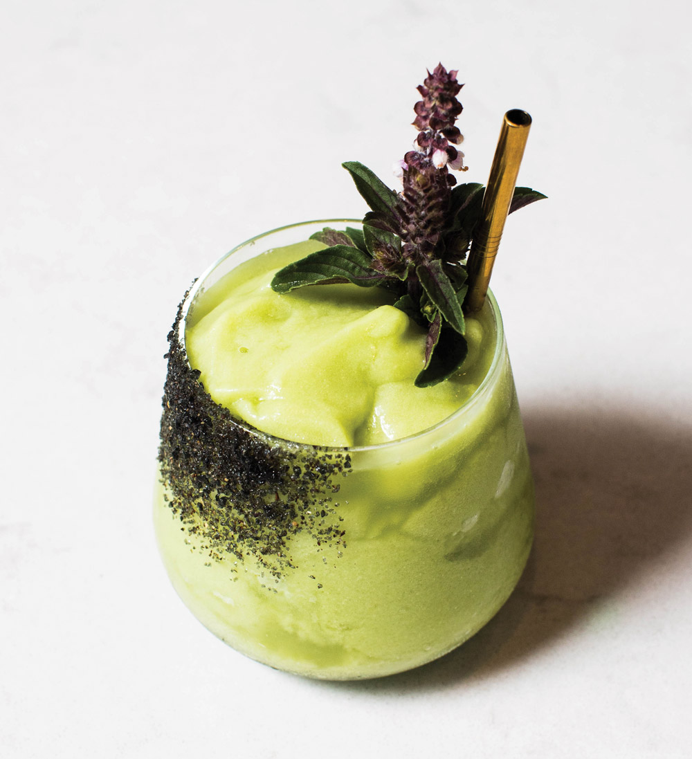 An Avocado Margarita cocktail