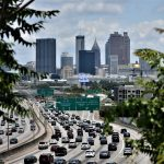 Midtown Atlanta traffic