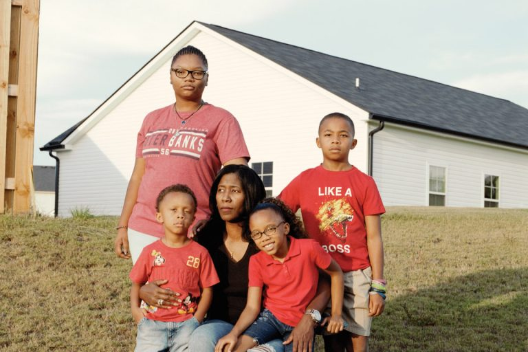 For 17 years, Demetress Williams fostered children. Then she met four siblings she wanted to adopt.