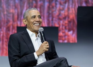 Former President Barack Obama speaks at Greenbuild 2019 in Atlanta