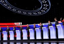 Democratic Debate Atlanta where Candidates are