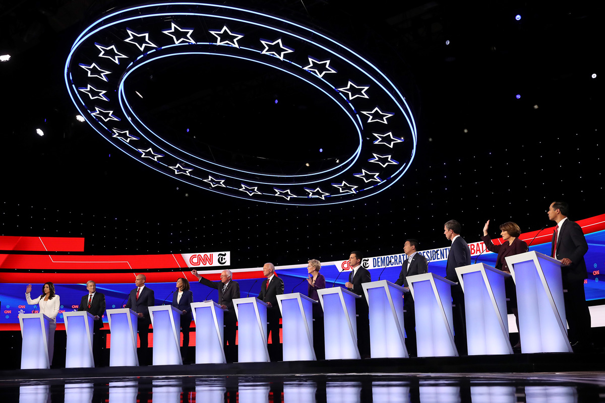 Surging Buttigieg Deftly Handles Heightened Attacks During Democratic Debate
