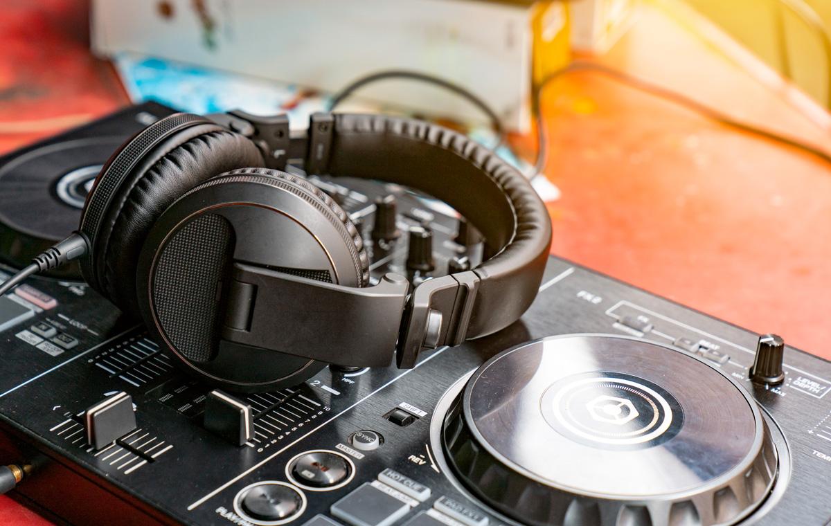 DJ fitness class
