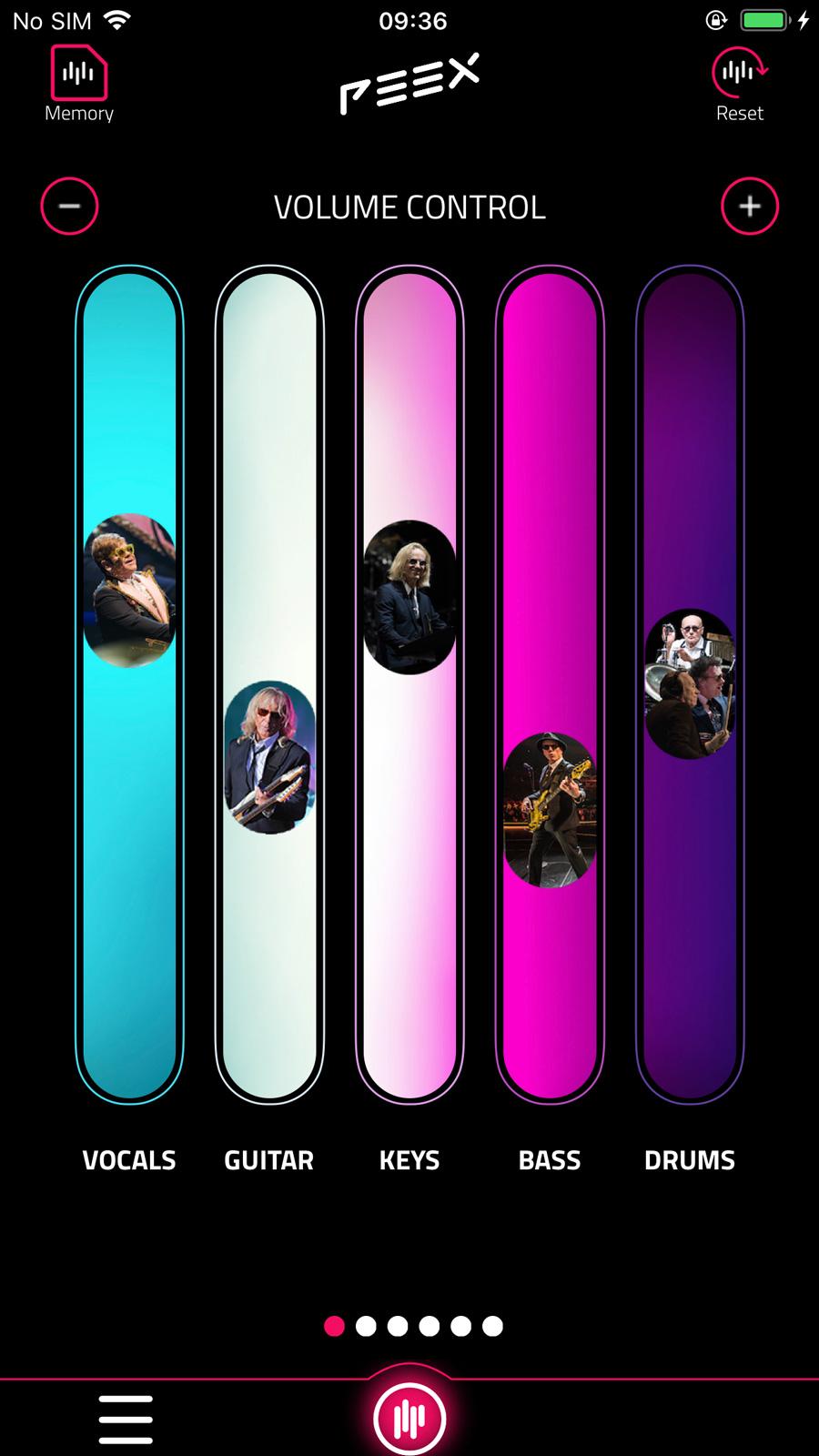 PEEX audio system Elton John Atlanta