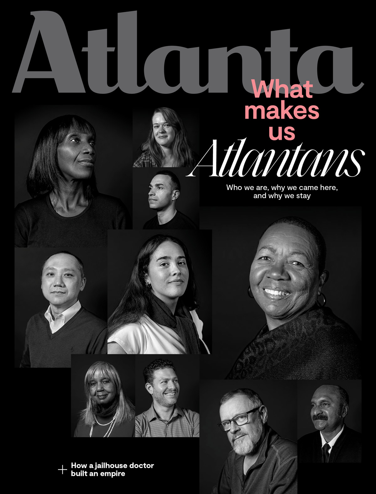 Atlanta Magazine January 2020 cover - What makes us Atlantans