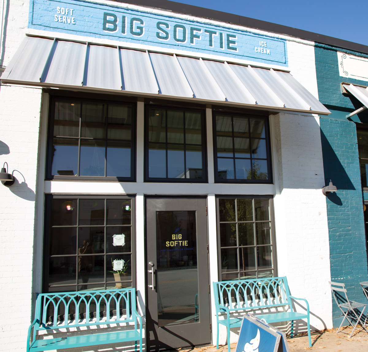 The exterior of Big Softie