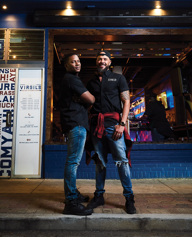 Juan and Gee Smalls at Virgil's Gullah Kitchen and Bar