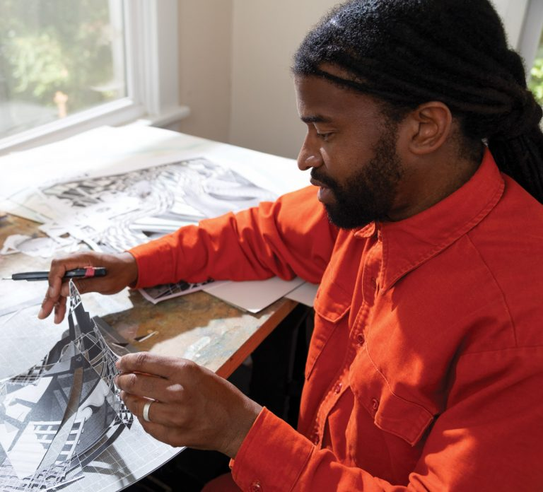 For Eric Mack, nature is both canvas and muse