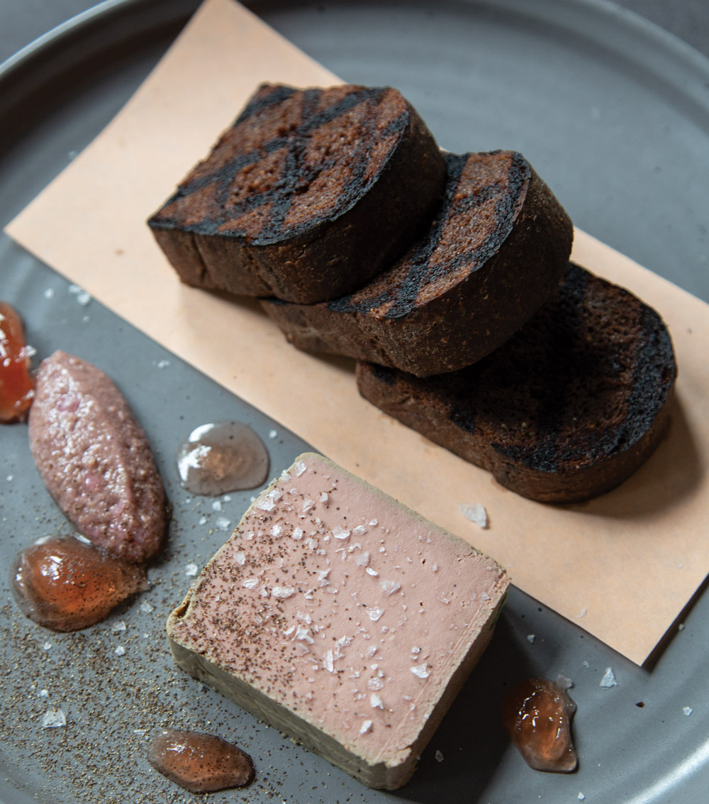 Redbird review: Chicken-liver mousse