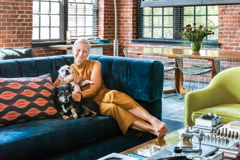 Explore Elizabeth Ingram and Alton Brown's curiosity-filled Marietta loft