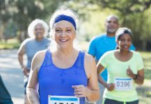 Running a marathon older