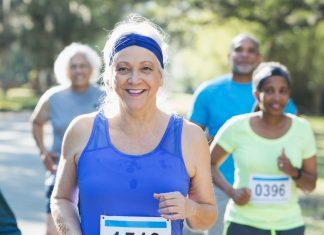 Running a marathon older