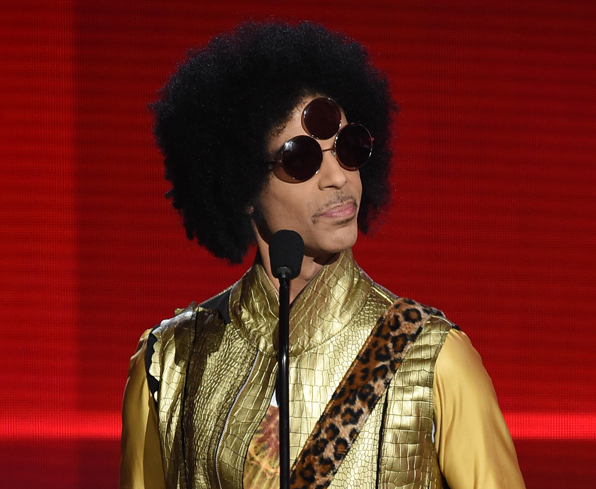 Prince in 2015