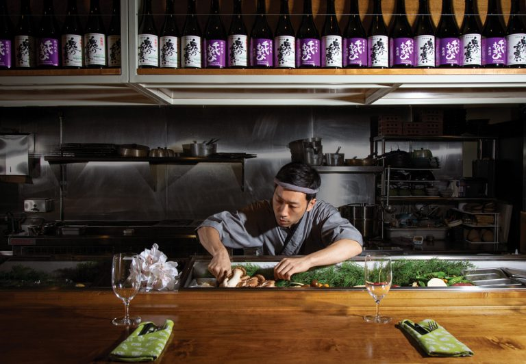 Review: Chirori is ambitious about Japanese food—and even more ambitious about sake
