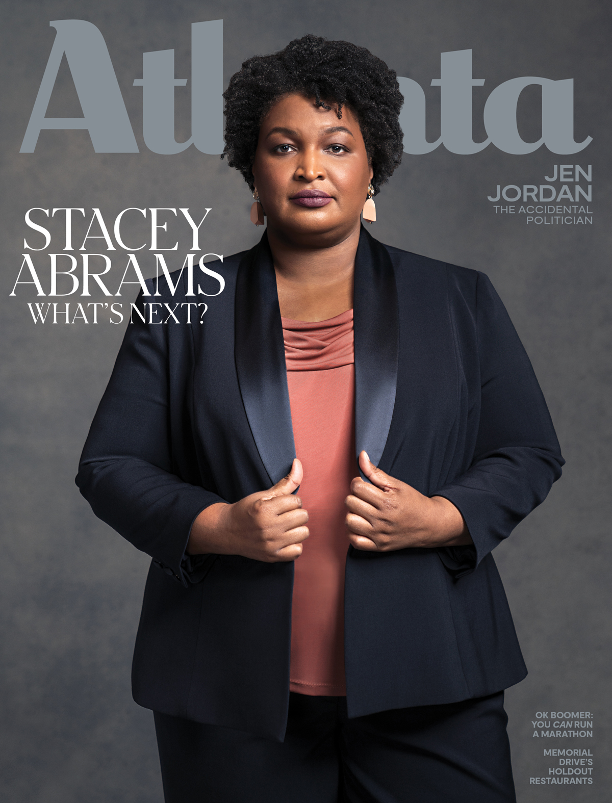 Atlanta Magazine February 2020 cover - Stacey Abrams