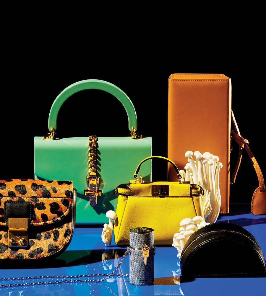 Tiny handbags