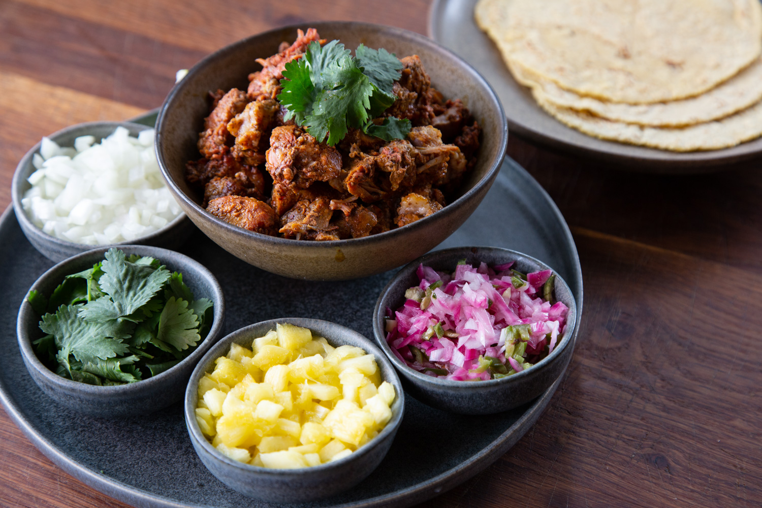 Amar Bien Pork cheek cochinita pibil