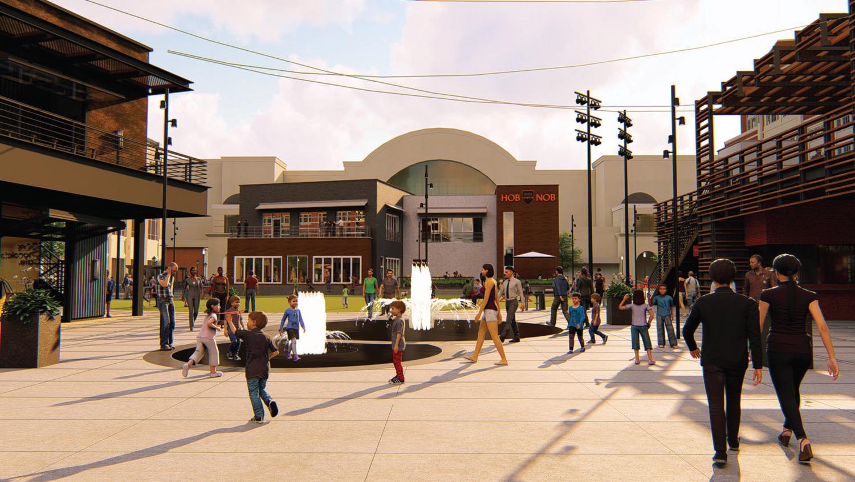 Atlantic Station Atlantic Green Rendering