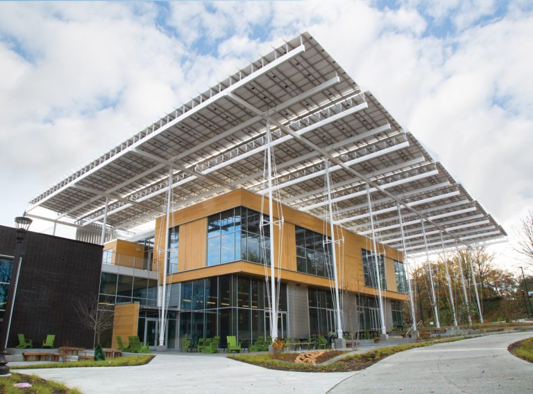 A structure that produces more energy than it uses? In the deep south? Welcome to the Kendeda building.
