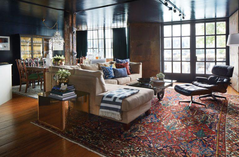 An Atlanta kitchen designer shares her hacks for loft living with a family